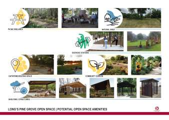 These images provide examples of potential amenities for the park. Please let us know what you want, don't want, like and/or don't like.